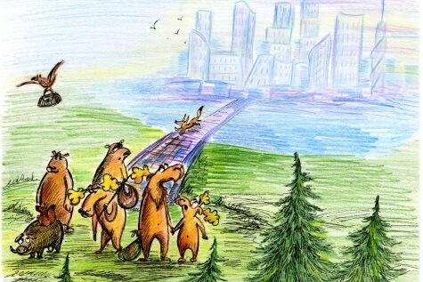 Сетевое издание M24.ru: Физика города: могут ли животные приспособиться к городской жизни