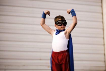 сила супергероев